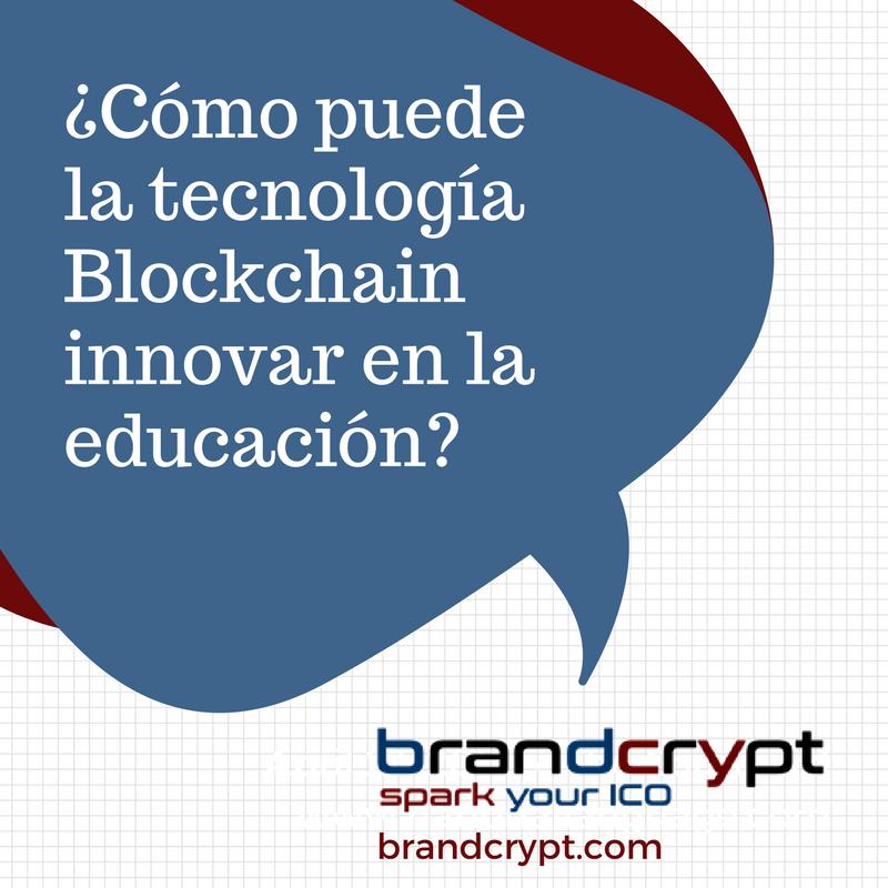 Cómo puede la tecnología Blockchain innovar en la educación