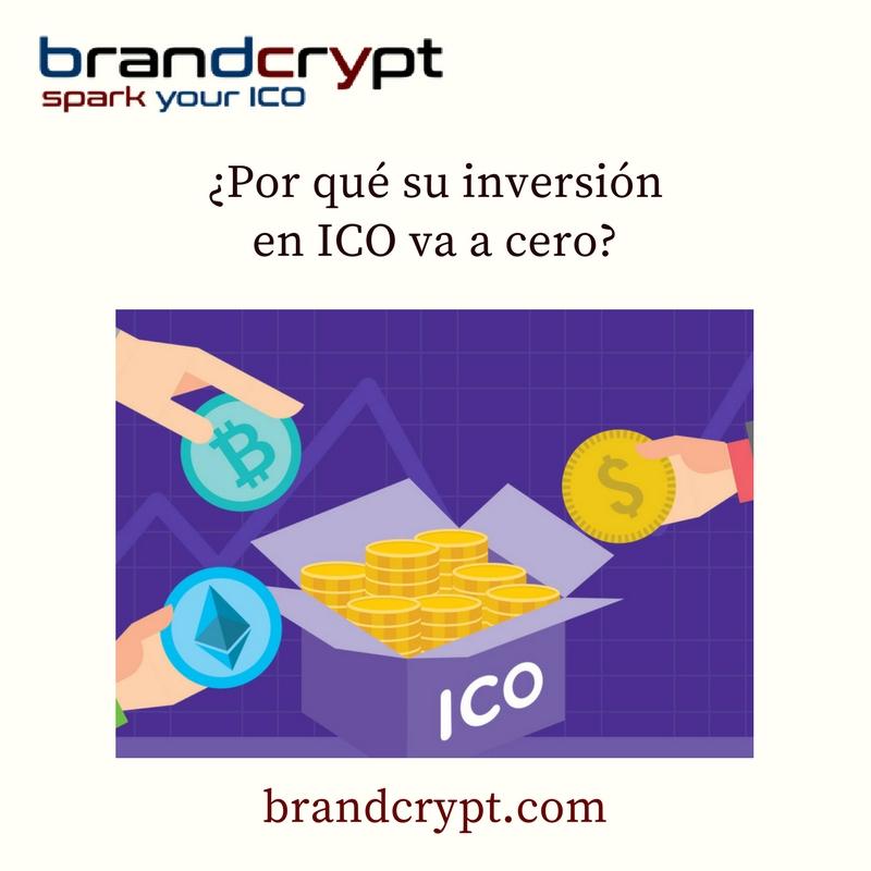 ¿Por qué su inversión en ICO va a cero?