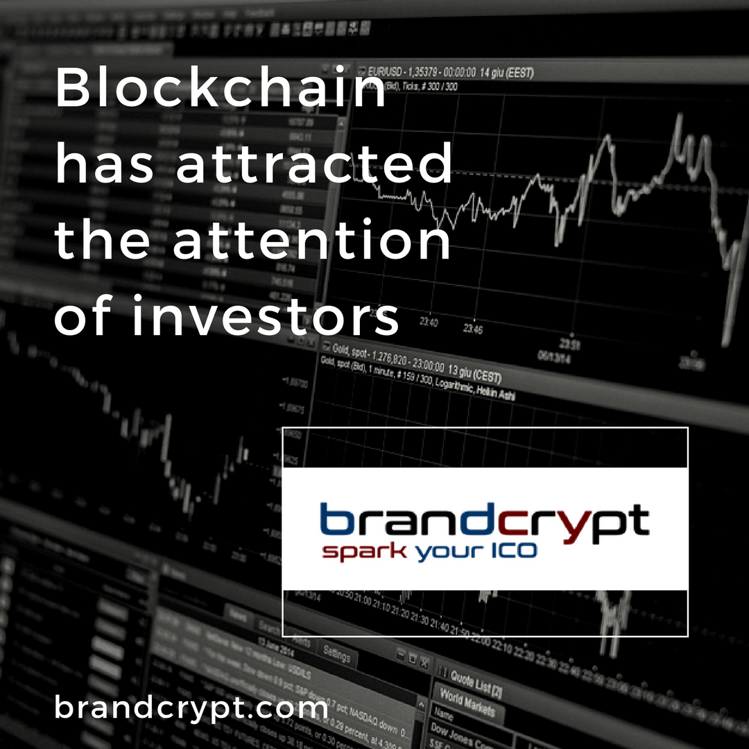 Blockchain has attracted the attention of investors