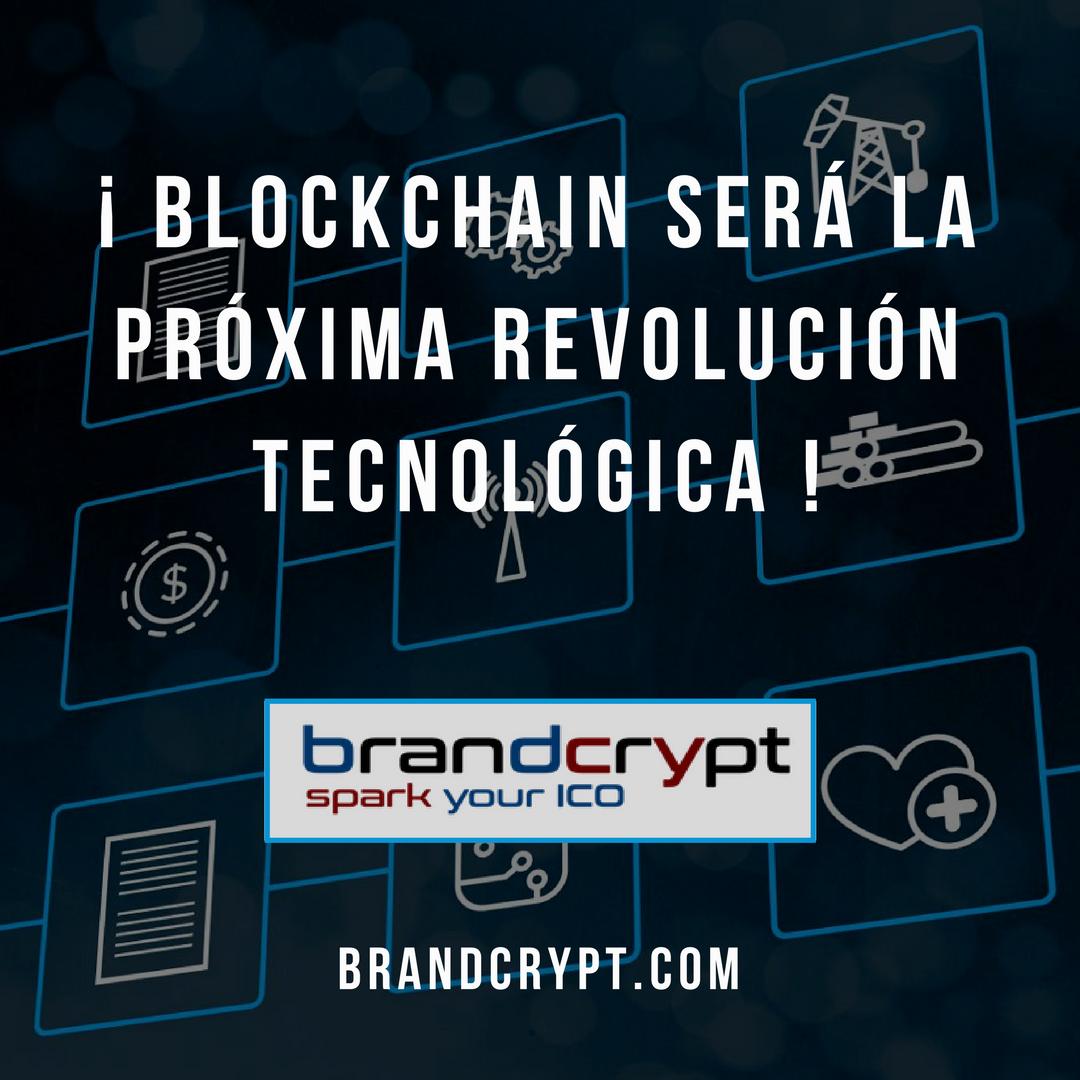 Blockchain será la próxima revolución tecnológica