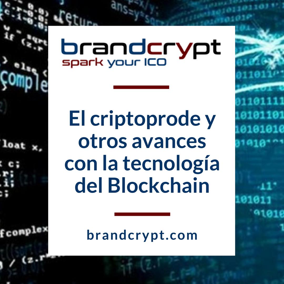 El criptoprode y otros avances con la tecnología del Blockchain