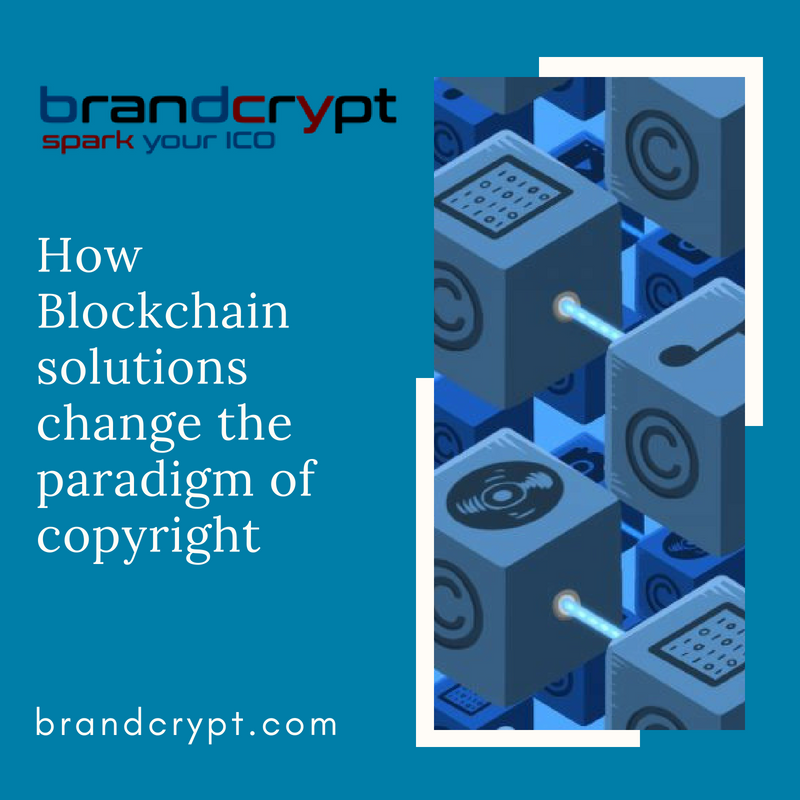 How Blockchain solutions change the paradigm of copyright