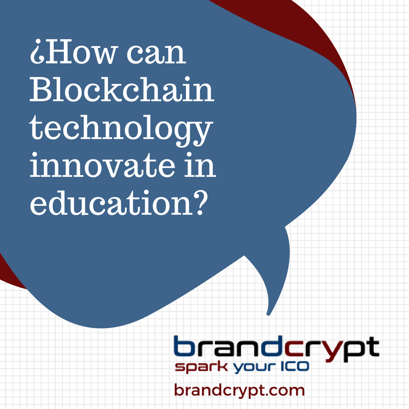 How can Blockchain technology innovate in education
