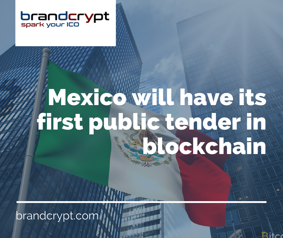 Mexico will have its first public tender in blockchain
