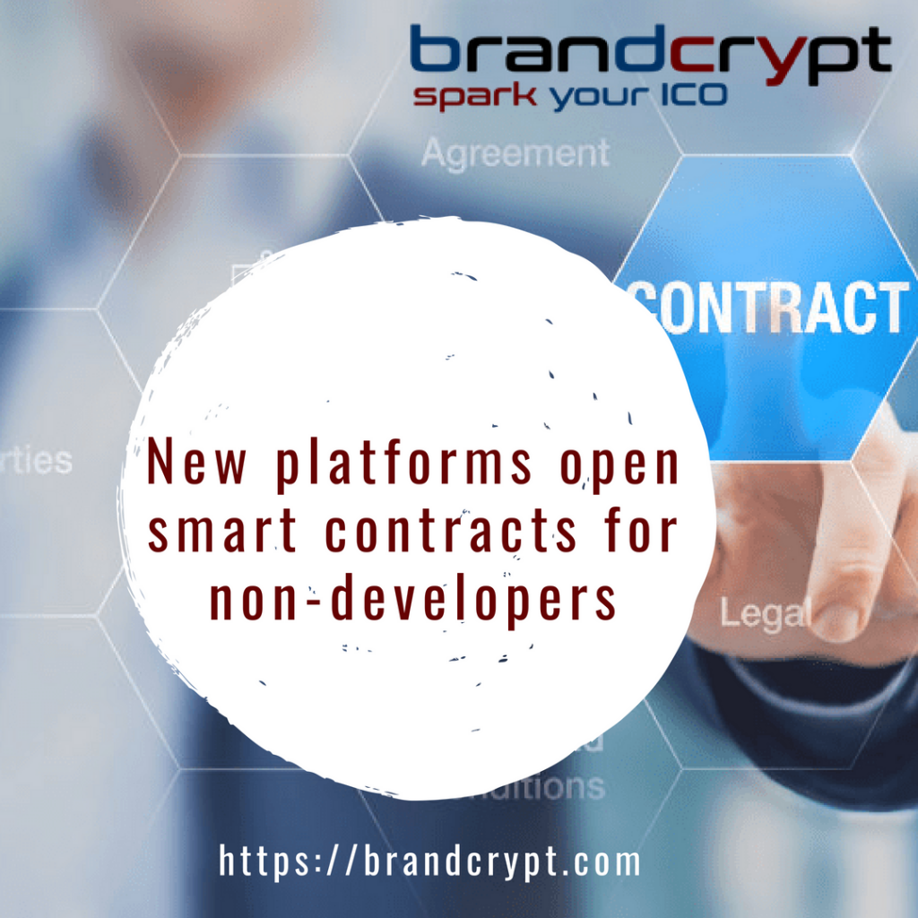 New platforms open smart contracts for non-developers