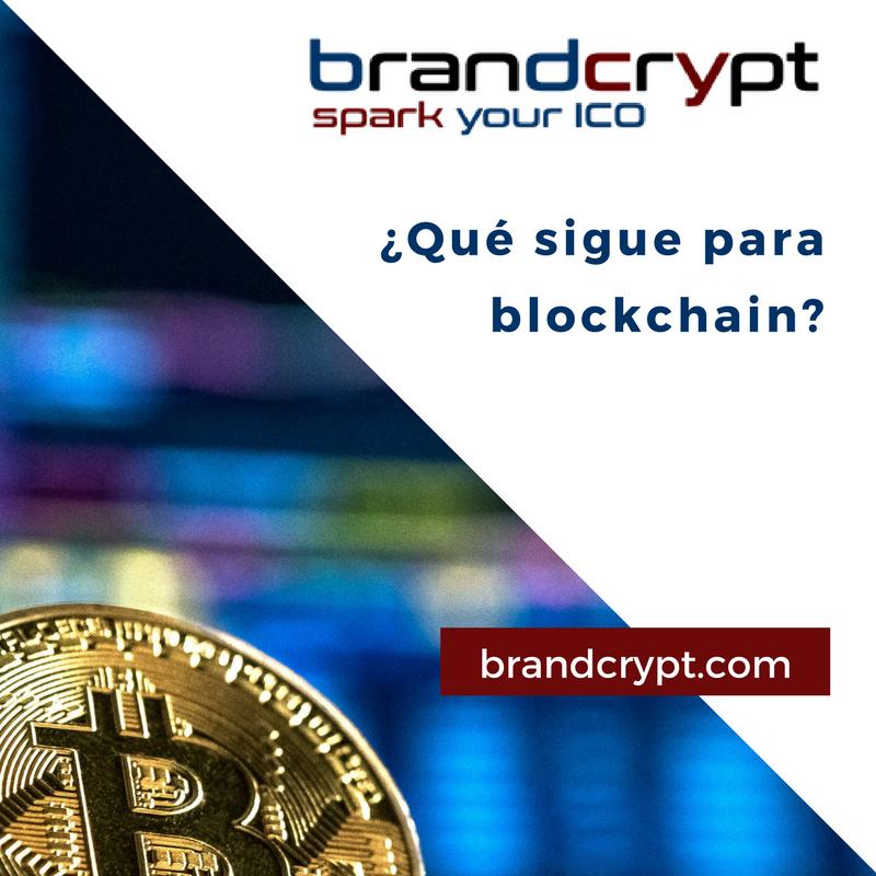 Qué sigue para blockchain