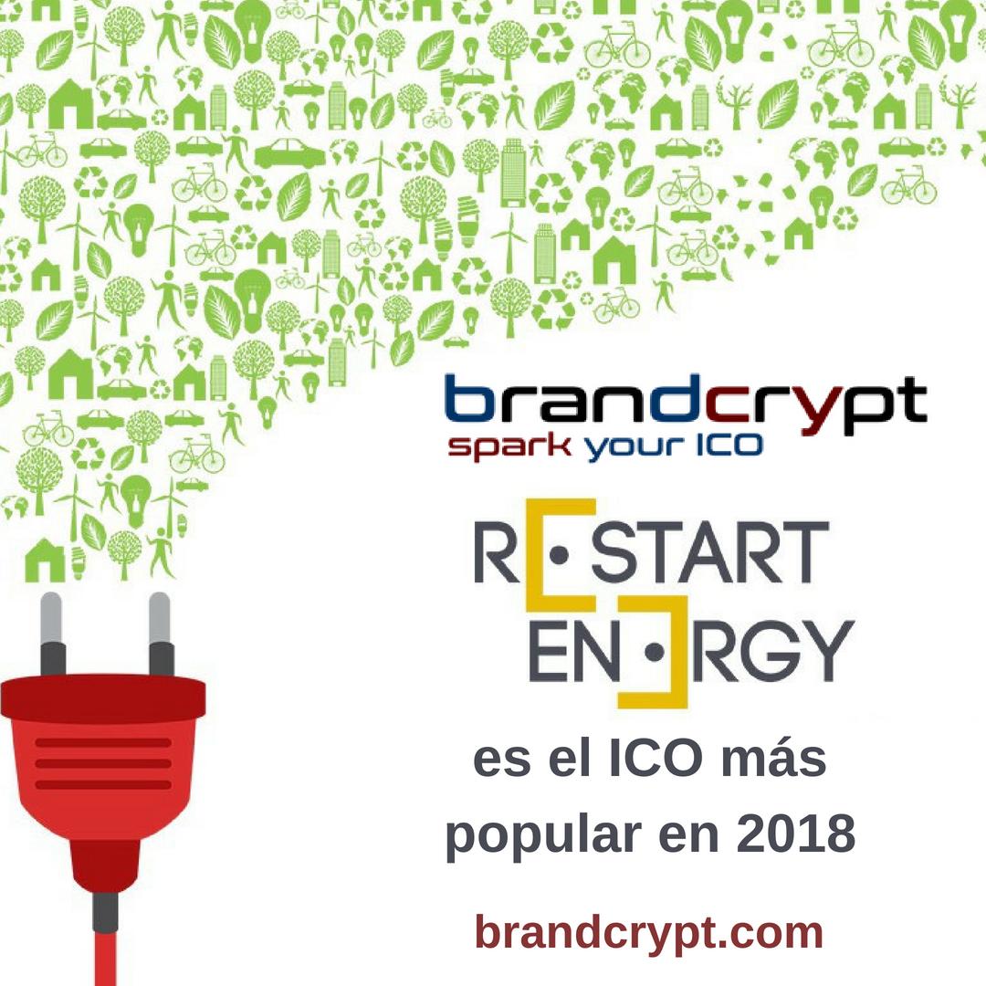 Restart Energy es el ICO más popular en 2018