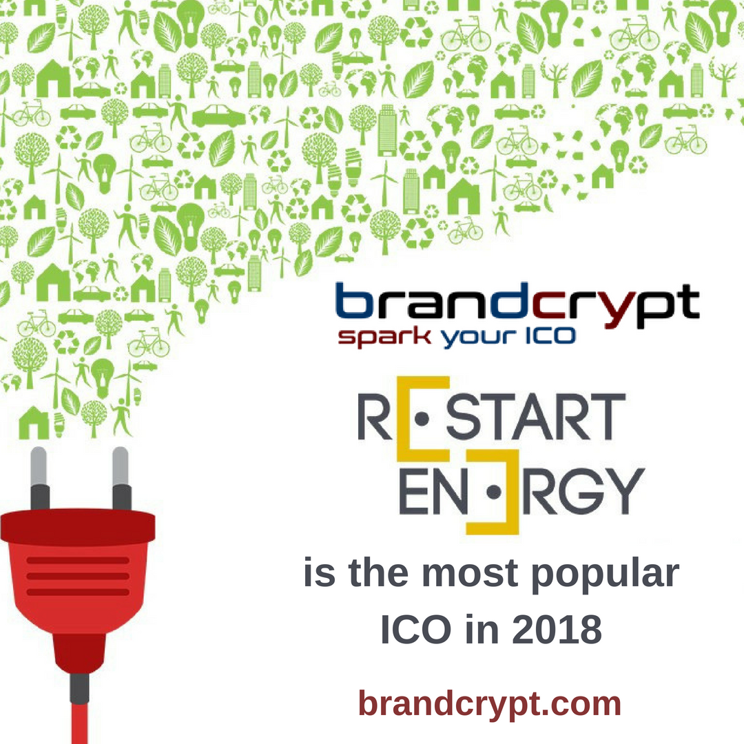 Restart Energy is the most popular ICO in 2018