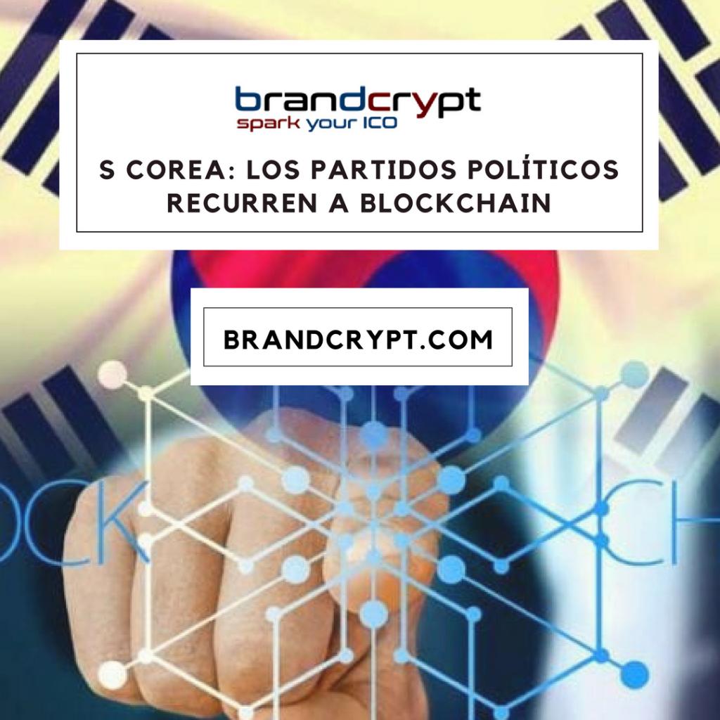 S Corea: los partidos políticos recurren a Blockchain