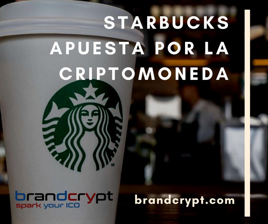 STARBUCKS APUESTA POR LA CRIPTOMONEDA