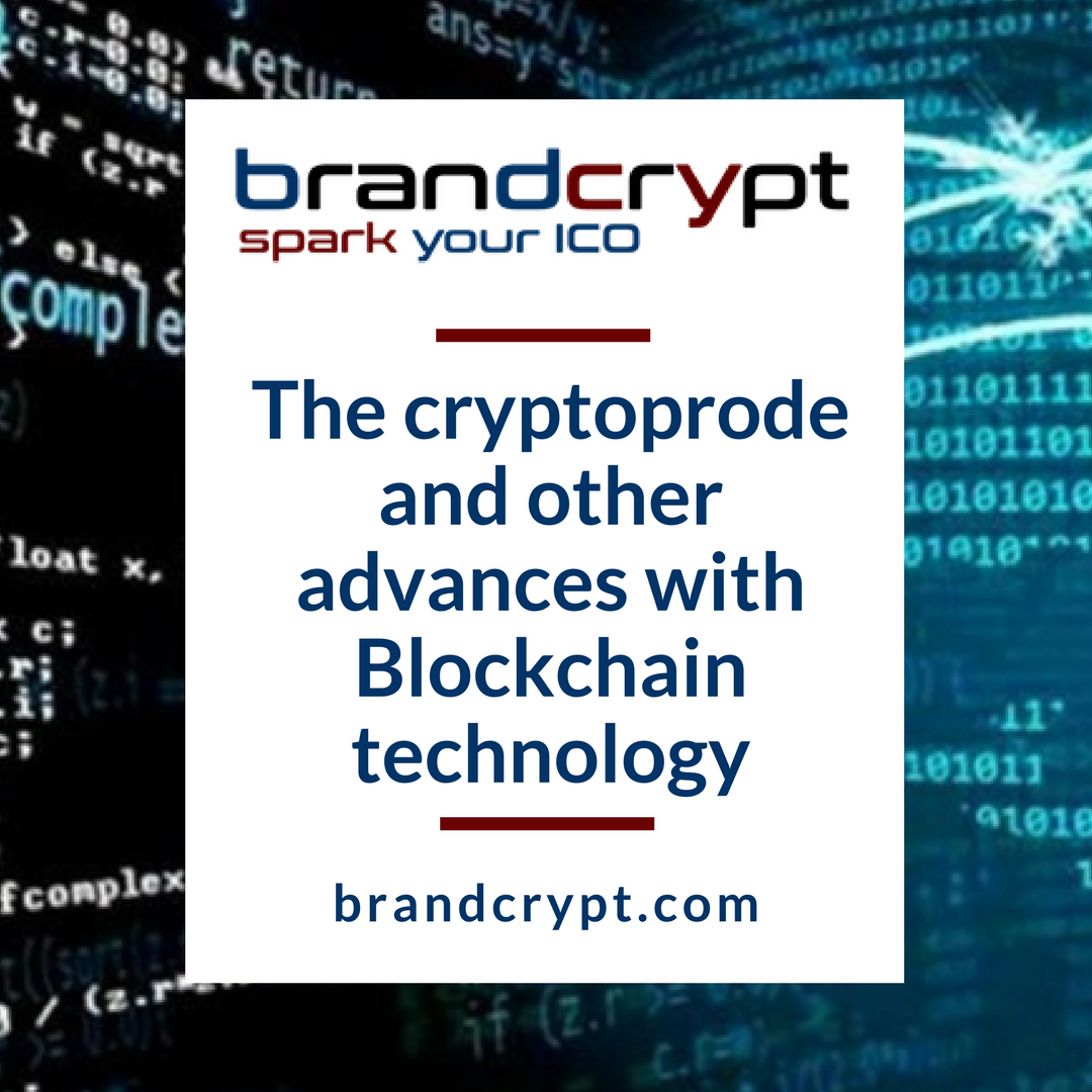 The cryptoprode and other advances with Blockchain technology