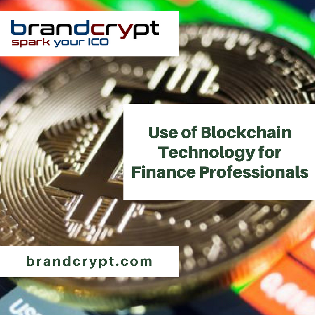 Use of Blockchain Technology for Finance Professionals