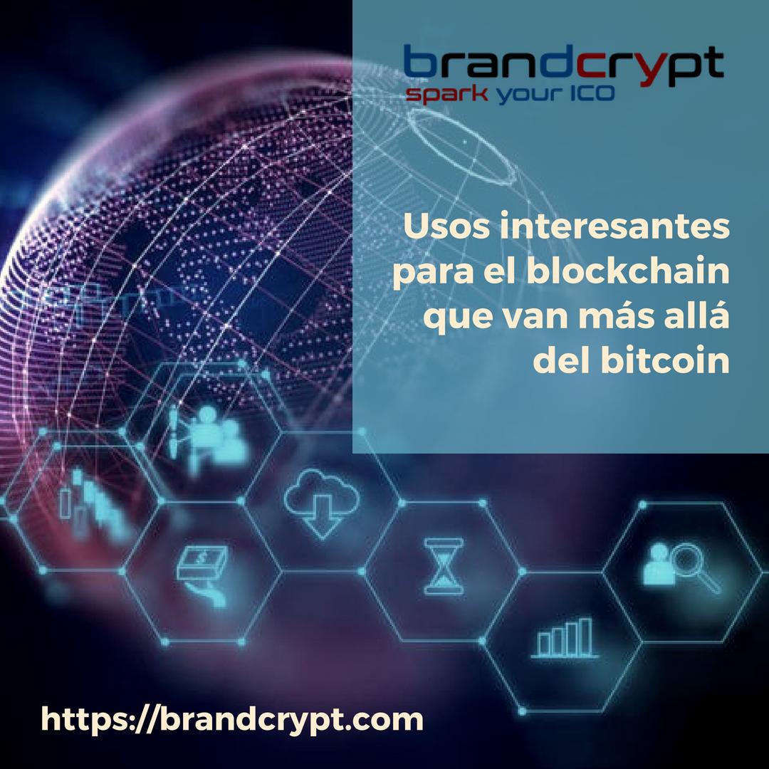 Usos interesantes para el blockchain que van más allá del bitcoin