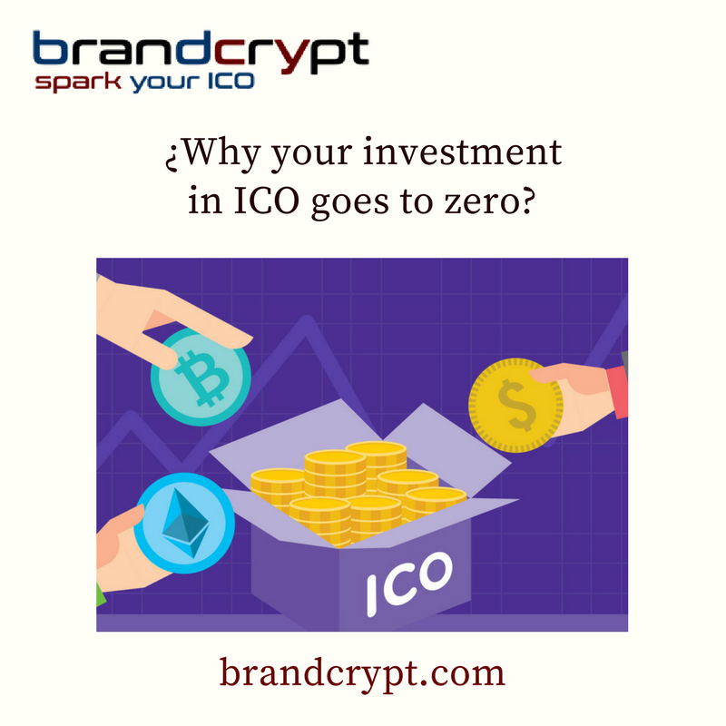 Why your investment in ICO goes to zero